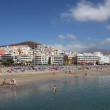 Beach Playa de los Cristianos, Canary Island Tenerife — Stock Photo