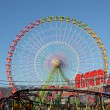 Ferris wheel on a sunny day. Santa Cruz de Tenerife — Stock Photo