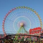 Ferris wheel on a sunny day. Santa Cruz de Tenerife — Stock Photo #9343444