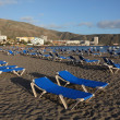 Playa de Los Cristianos, Canary Island Tenerife — Stock Photo #9343476