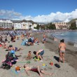Playa de Los Cristianos, Canary Island Tenerife — Stock Photo