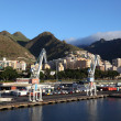 The port of Santa Cruz de Tenerife, Canary Islands Spain — Stock Photo