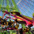Stock Photo: Amusement park ride in SantCruz de Tenerife, Spain