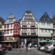 Traditional half-timbered houses in the old town of Limburg, Hesse Germany — Stock Photo
