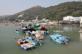 Fishing village Tai O at Lantau island in Hong Kong — Stock Photo