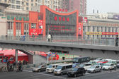 Overpass in the city of Shanghai, China — Stock Photo
