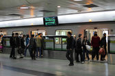 Shanghai Metro Station — Stock Photo
