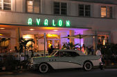 The Avalon Hotel in Miami South Beach Art Deco District, Florida — Stock Photo