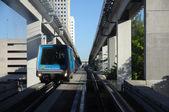 Der vollautomatische miami downtown train system — Stockfoto