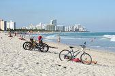 южный пляж майами, флорида сша — Стоковое фото