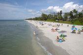 Pláž v naples, florida — Stock fotografie