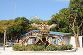 Giant Lobster in front of a souvenir store, Florida Keys — Stock Photo