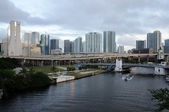 Rzeki Miami, florida, Stany Zjednoczone Ameryki — Zdjęcie stockowe