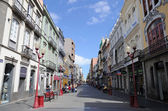 Calle Triana in Las Palmas de Gran Canaria. Grand Canary Island — Stock Photo
