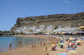 Beach in Puerto de Mogan, Grand Canary Island — Stock Photo