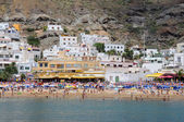 Strand in puerto de mogan, gran canaria insel spanien — Stockfoto