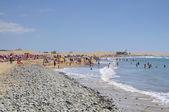 マスパロマス ビーチ、グラン カナリア島、スペイン — ストック写真