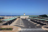 Airport on the Canary Island Fuerteventura — Stock Photo
