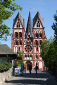 Cathedral in Limburg (Limburger Dom), Hesse Germany — Stockfoto
