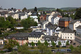 View over historic town Weilburg, Hesse Germany — Stock Photo