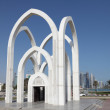 Islamic monument in city of Doha, Qatar — Stock Photo #9380363
