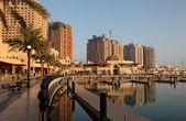 Passeggiata nella perla, doha qatar — Foto Stock