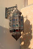 Traditional arabic lantern in Doha, Qatar — Stock Photo