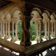 Cathedral Cloister in Aix-en-Provence, southern France -  