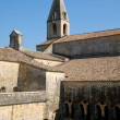 Medieval Cistercian cloister in southern France -  