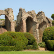Ruin of a Roman arena in Frejus, southern France - Stock Photo