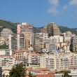 Stock Photo: Monte Carlo appartment buildings in Monaco