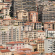 Stock Photo: Apartment buildings in Monaco