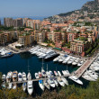 Marina in Monte Carlo, Monaco - Stock Photo