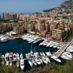 Marina in Monte Carlo, Monaco — Stock Photo #9452897