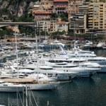 Luxury yachts in Monaco — Stock Photo #9452910