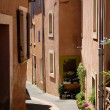 Stock Photo: Street in Roussillon, Provence France