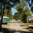 Campsite in southern France — Stock Photo