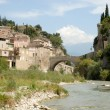 Stock Photo: Rombridge over Ouveze in Vaison-la-Romaine, France