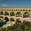 Roman aqueduct Pont du Gard, France — Stock Photo