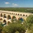 Romaqueduct Pont du Gard, France — Stock Photo #9454859