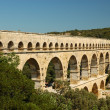 Royalty-Free Stock Photo: Roman aqueduct Pont du Gard in France