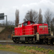 Small freight train — Stock Photo