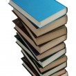 Stack of books isolated on white — Stock Photo #9455420