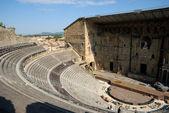 Théâtre antique d'Orange - ancient Roman theater in Orange, southern France — Stock Photo
