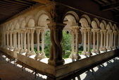 Cathedral Cloister in Aix-en-Provence, southern France — Stock Photo