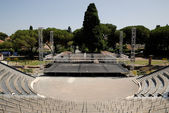 Open air theater build in the Roman Amphitheater, Frejus, France — Stock Photo