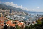 View over Monte Carlo, Monaco — Stock Photo