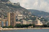 Coast in Monte Carlo, Monaco — Stock Photo