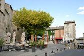 Street scene in Gordes, southern France — Stock Photo