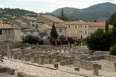 Roman excavations in Vaison-la-Romaine, France — Stock Photo